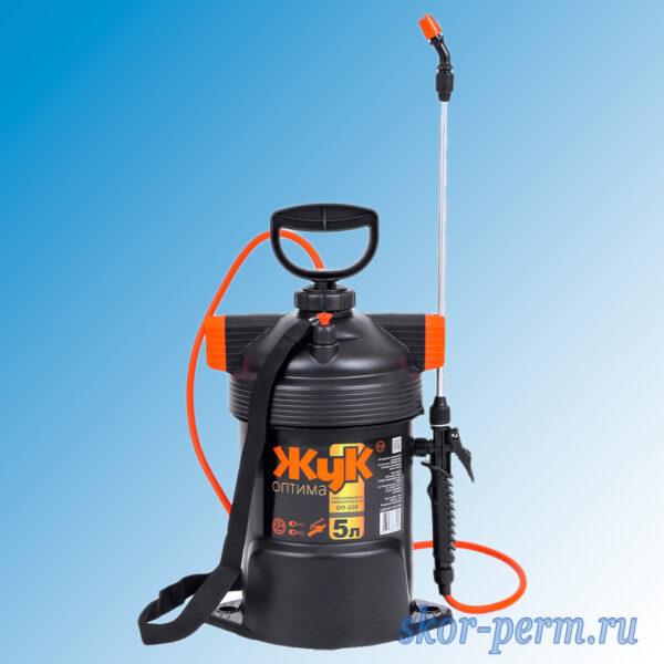 Опрыскиватель пневматический ОП-220 ЖУК Оптима 5 литров