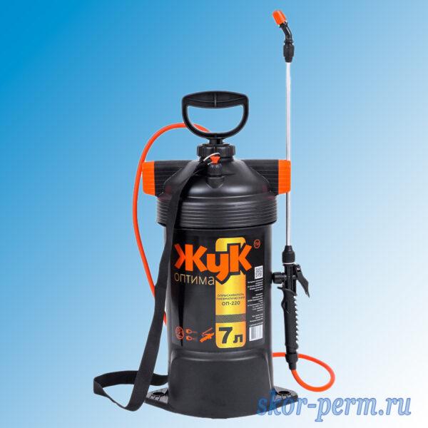 Опрыскиватель пневматический ОП-220 ЖУК Оптима 7 литров