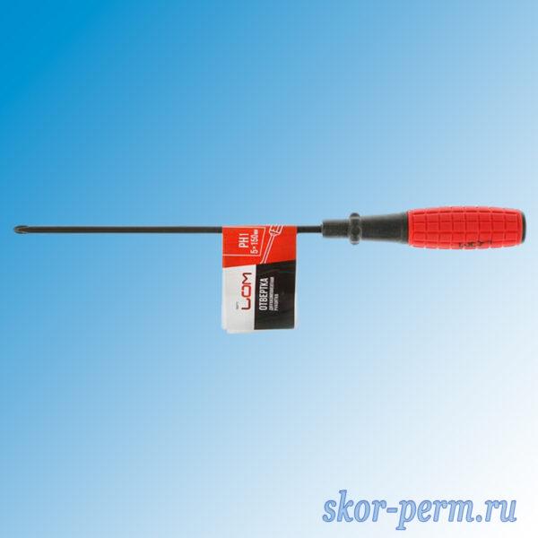 Отвертка крестовая PH1 150 мм