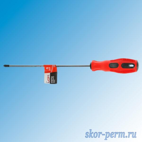 Отвертка крестовая PH2 200 мм
