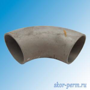 Отвод крутоизогнутый Ду76х4,0 из нержавеющей стали