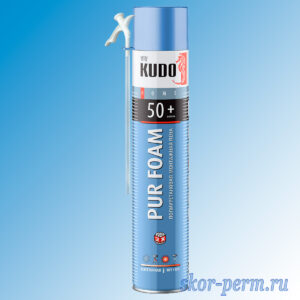Пена монтажная KUDO HOME 50+ бытовая всесезонная 1000 мл