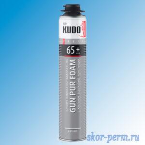 Пена монтажная KUDO PROFF 65+ профессиональная 1000 мл