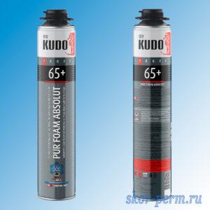 Пена монтажная KUDO PROFF 65+ АРКТИКА профессиональная зимняя (от -18 до +30 °С) 1000 мл