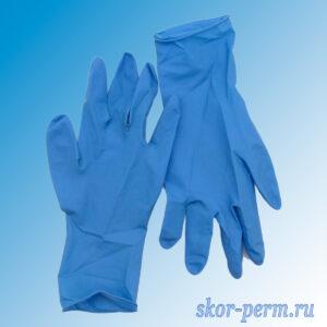 Перчатки резиновые латексные