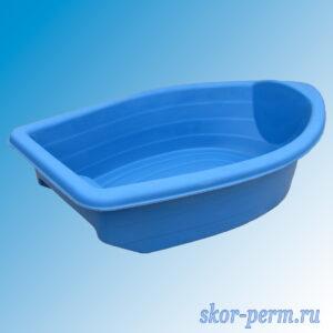 "Песочница пластиковая ""Лодочка"" синяя"