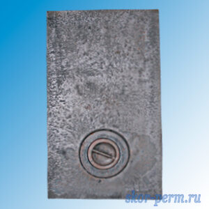 Плита очажная 1 конфорочная П1-2 (410х710 мм)