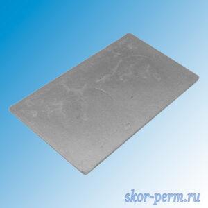Плита очажная цельная ПСЦ (410х710 мм)