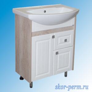 Подстолье для ванной «ВЕРСАЛЬ-65» (под умывальник Элеганс-65), ПВХ