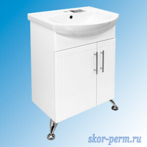 Подстолье для ванной «Вилена-55» (под умывальник Элеганс-55, ПВХ)
