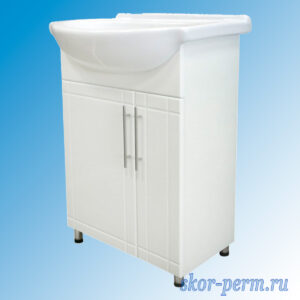 """Подстолье для ванной """"Вилена-56"""" (под умывальник Солас-56), ПВХ"""