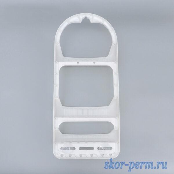 Полка для ванной комнаты пластиковая