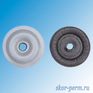 Пресс-шайба для поликарбоната D30 мм оцинкованная