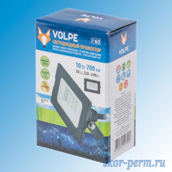 Прожектор светодиодный 10 Вт VOLPE