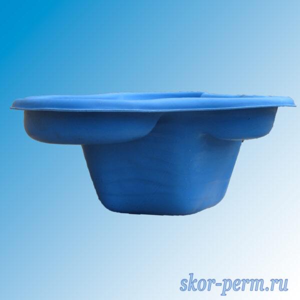 Чаша для пруда пластиковая 135 л синяя