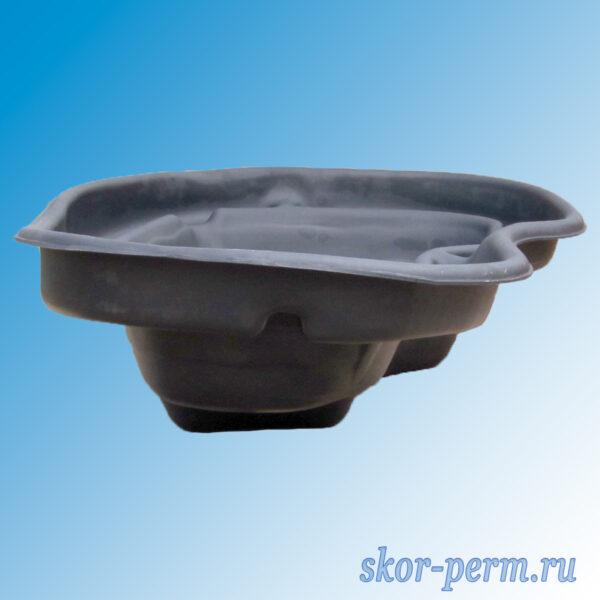 Чаша для пруда пластиковая 300 л черная