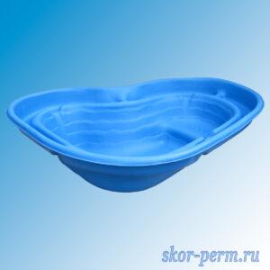 Чаша для пруда пластиковая 300 л синяя