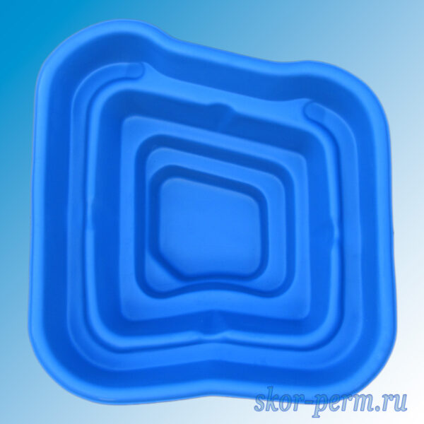 Чаша для пруда пластиковая 450 л синяя