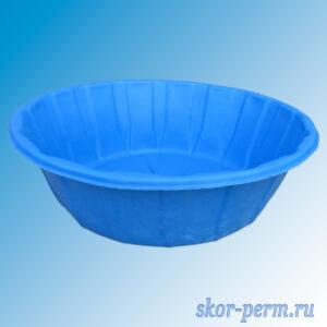 Чаша для пруда пластиковая 480 л синяя