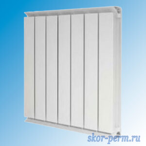Радиатор алюминиевый ТЕРМАЛ РАП-500-10 (1,400 кВт)