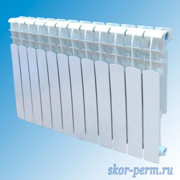 Радиатор алюминиевый BENARMO AL 500/96 12 секций