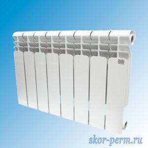 Радиатор биметаллический STI 80/350 (105 Вт)
