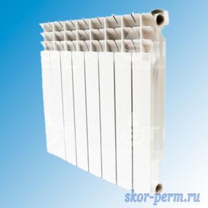Радиатор биметаллический STI 80/500 (129 Вт)