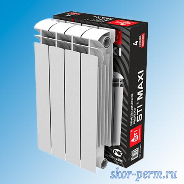 Радиатор биметаллический STI MAXI 500