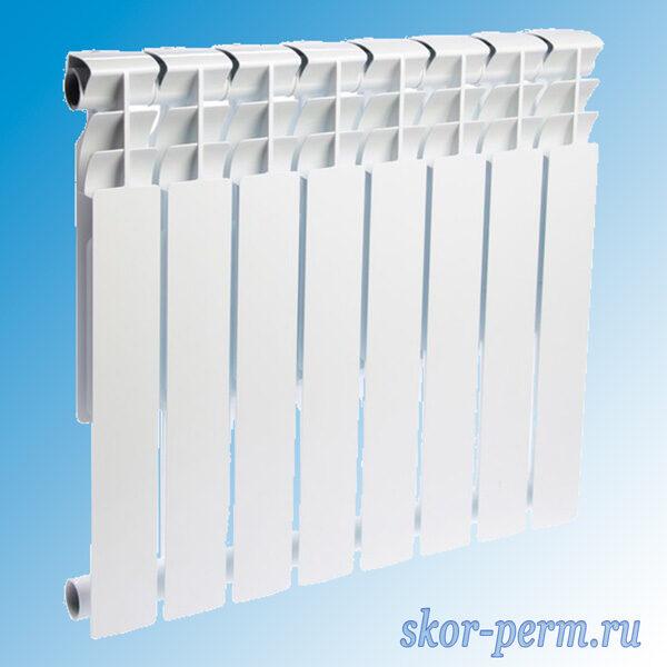 Радиатор биметаллический Valfex Optima Bm 500