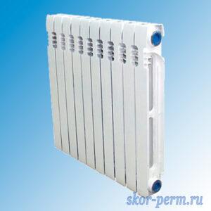 Радиатор чуг. STI Нова – 500 (эмаль 124 Вт)