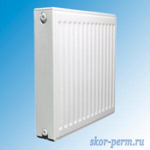 Радиатор стальной NED C22х500х400 боковое подключение (748 Вт)