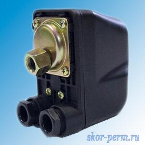 Реле давления БЕЛАМОС PS-02C с накидной гайкой 1/4″ (1,0 – 5,5 бар)