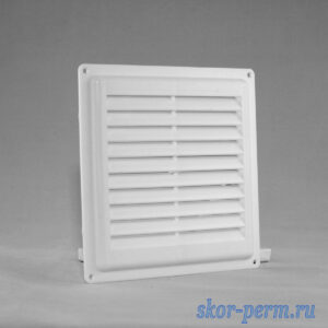 Решетка вентиляционная 150х150 без рамки, с москитной сеткой