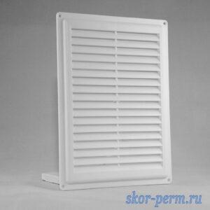 Решетка вентиляционная 175х240 без рамки, с москитной сеткой