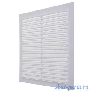 Решетка вентиляционная 194х194 без рамки, с москитной сеткой