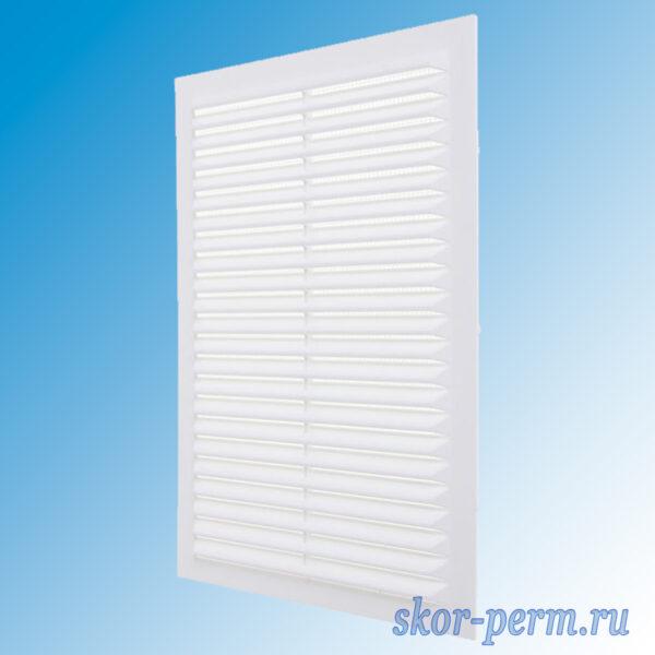 Решетка вентиляционная без рамки с москитной сеткой