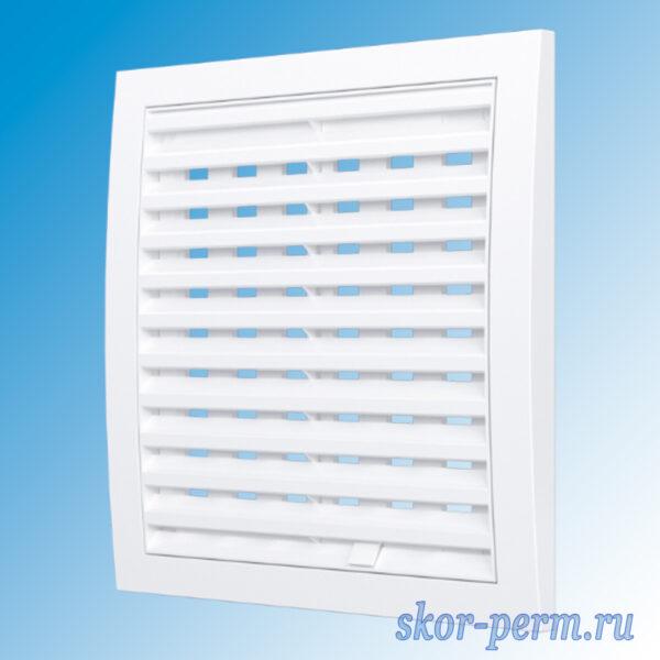 Решетка вентиляционная разъемная регулируемые жалюзи