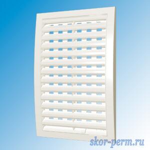 Решетка вентиляционная 200х300 разъемная, регулируемые жалюзи, без сетки