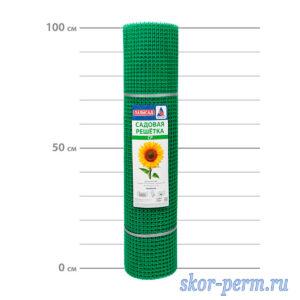 Сетка пластиковая 15х15, 1,0х20 (20 м2) зеленая