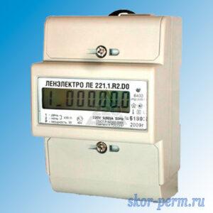 Счетчик электрический ЛЕ221.1.R2.DО(5-60А) двухтарифный
