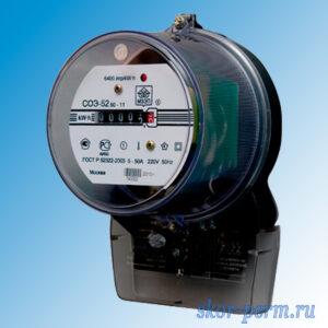 Счетчик электрический СОЭ-52/50-11Ш (АГАТ 1-1)