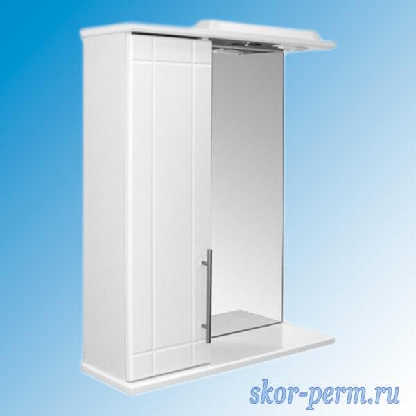 Шкаф навесной MIXLINE ВИЛЕНА-55 Левый с подсветкой
