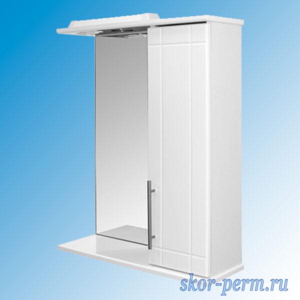 Шкаф навесной MIXLINE ВИЛЕНА-55 Правый с подсветкой