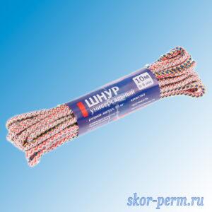 Шнур универсальный d=6 мм, L=10 м,