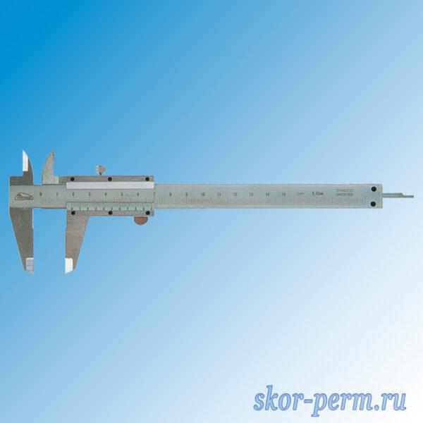 Штангенциркуль 150 мм с глубиномером в футляре