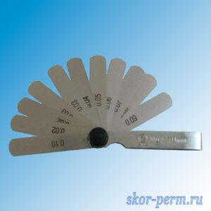 Набор щупов 70 мм №1, 8 шт (0,03-0,1 мм)