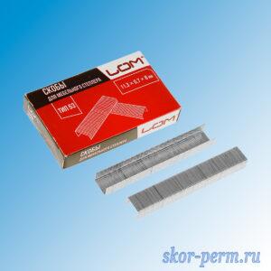 Скобы для степлера 11,3х0,7х8 мм, упаковка 1000 шт