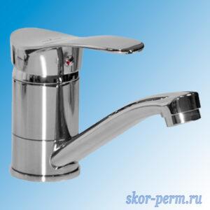 Смеситель для кухни 40k MIXLINE ML03-031 короткий излив