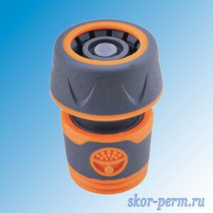Коннектор с аквастопом 3/4 быстросъемный