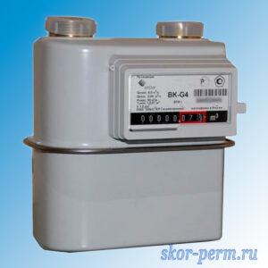 Счетчик газа ВК G4 (левый правый)